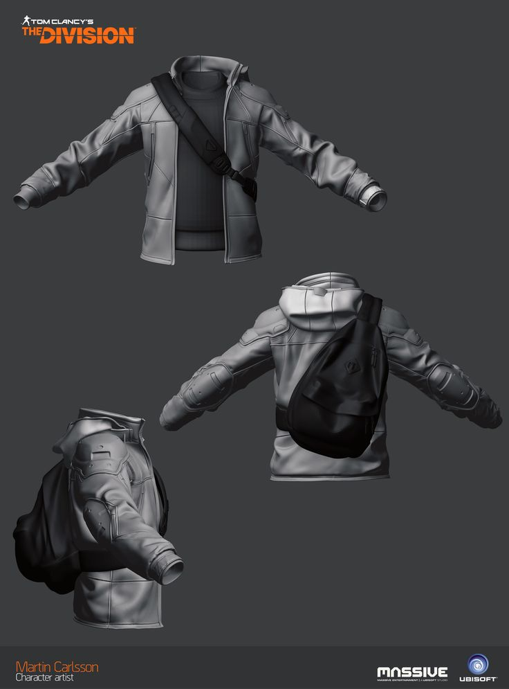 ArtStation - The Division - Jacket, Martin Carlsson