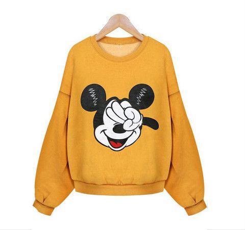 """Sudadera amarilla de """"Mickey Mouse"""""""