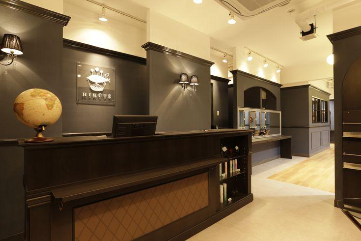 Attractive Beauty Salon Interior Design Ideas Reception Space Decor