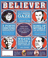 JUNE 2012  The cover depicts, clockwise from the upper left, Sophie Calle, Penn Badgley as Dan Humphrey, Shawn Nelson Schmitt, and Karen Armstrong. Cover illustrations: Charles Burns!