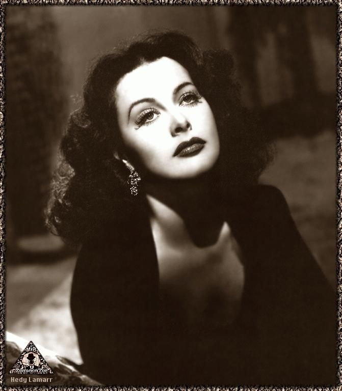 Hedy Lamarr - Gorgeous femme fatale, brilliant inventor and war hero. Go, girl!