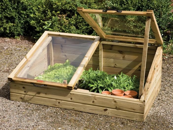 10 Easy Pieces: Cold Frames Gardenista. NB Be inspired & tailor make your own cold frame.