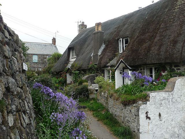 Cadgwith cottages, Cornwall, England (by Sandy & Alan).