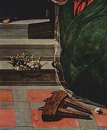 Piero di Cosimo - Sacra conversazione Del Pugliese - dettaglio