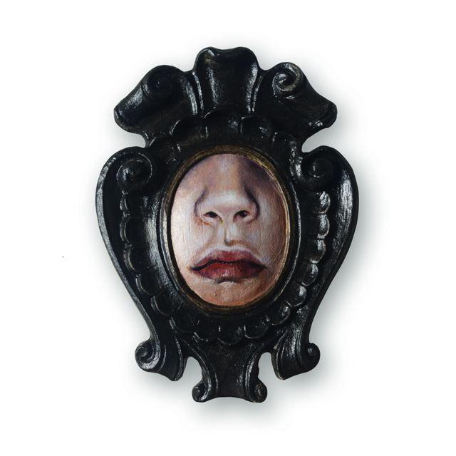 Adria Sartore Come closer cm.12x9 Museum Childhood solo exhibition Beijing Art Now Gallery 28.03.2015  09.05.2015