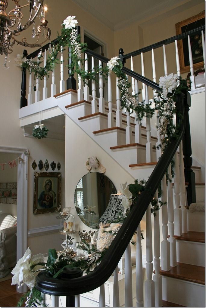 Best 25 black banister ideas on pinterest staircase for How to decorate a banister