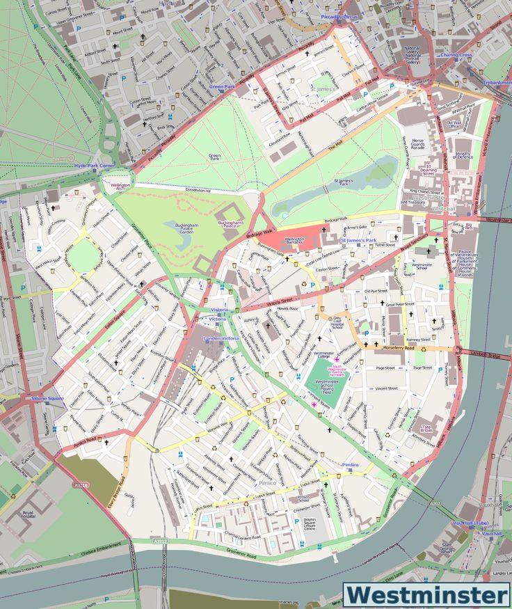 Westminster_OSM_map