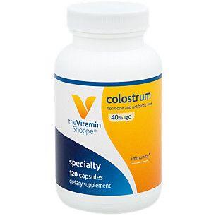 Super Strength Colostrum 40% IGG (120 Capsules) at the Vitamin Shoppe
