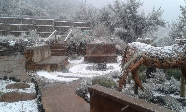 July 2015 Snow #snow #lesotho #malibalodge