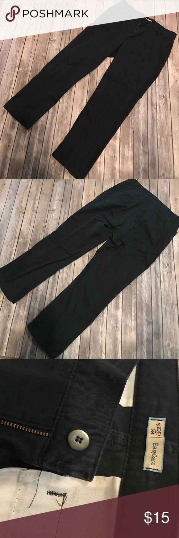 H m black dress pants by lee
