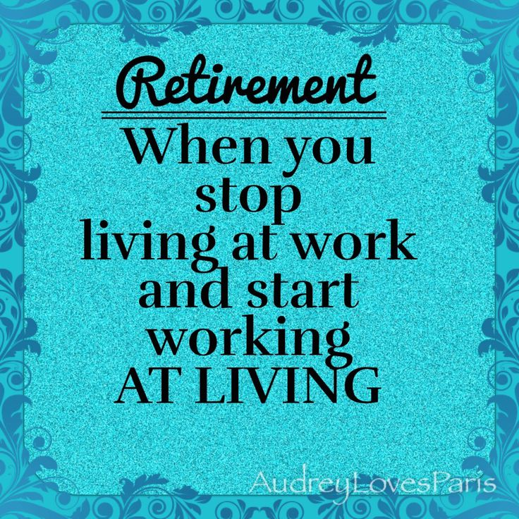 Retirement                                                                                                                                                                                 More