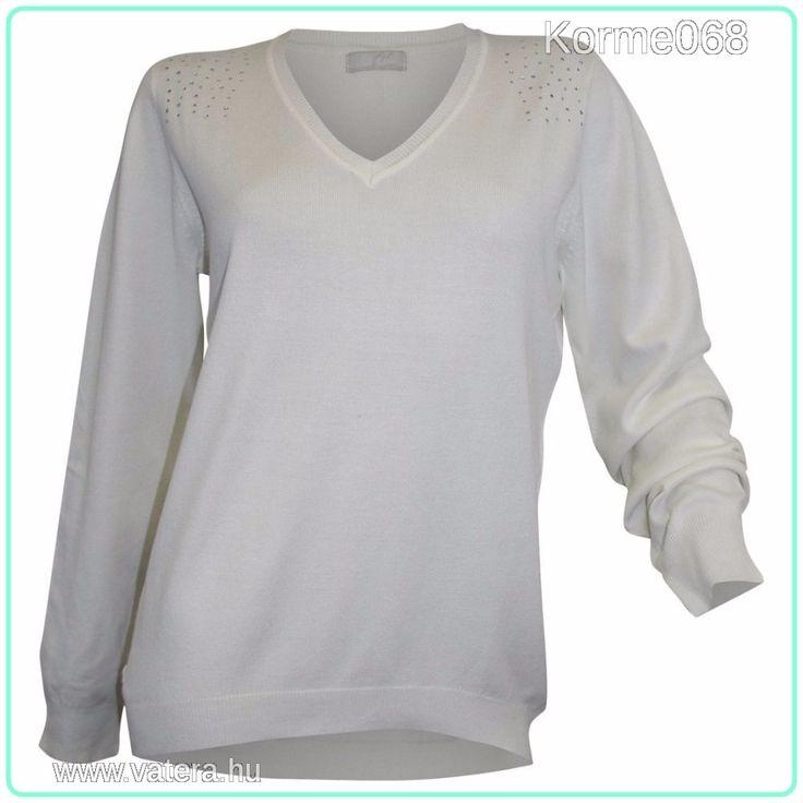 Cheer finomkötött strasszos női pulóver  34/36/38        ÚJ !    Minőségi márka! Több méretben! - 3700 Ft - Nézd meg Te is Vaterán - Női pulóver - http://www.vatera.hu/item/view/?cod=2544832919