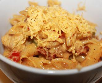 Kylling Fajitas Pasta – Knallgod