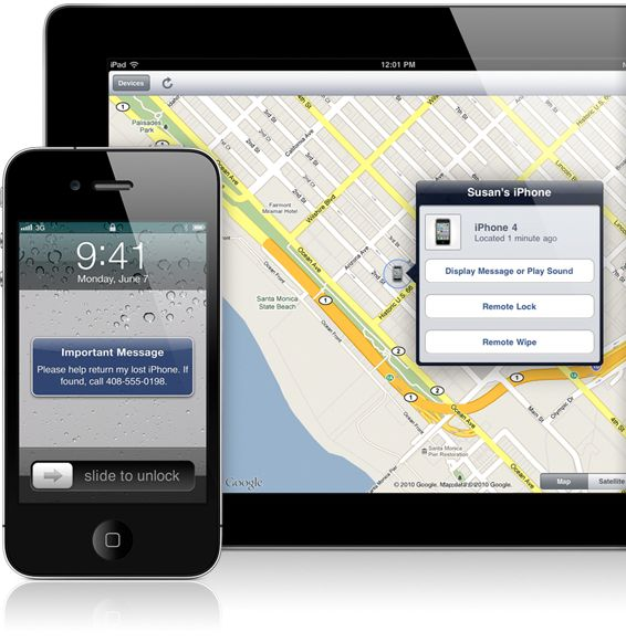 finding iphone with apple id