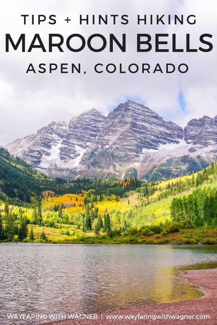 Hiking Maroon Bells In Aspen Colorado Colorado Hiking