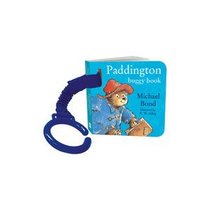 Follow a day in the life of the nation's favourite bear, Paddington, with this adorable rhyming board book, complete with elasticated fabric strap and buggy attachment.