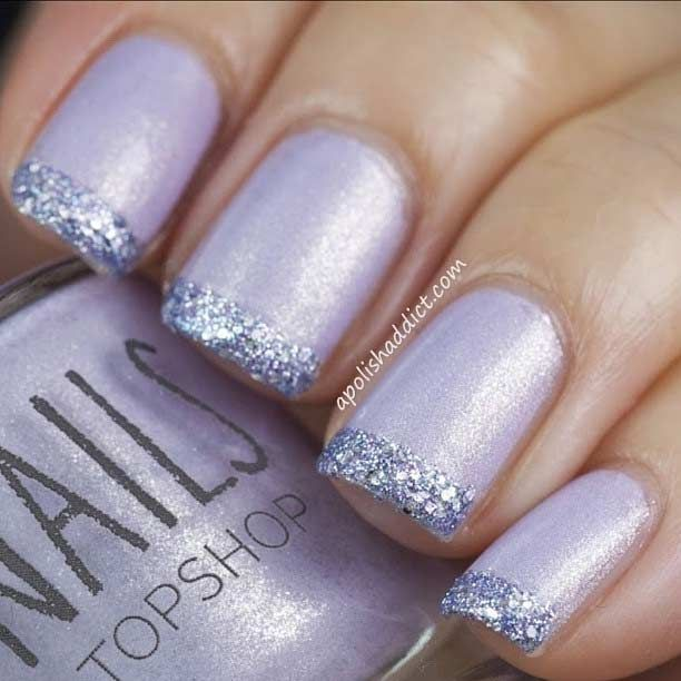 French tip nail design images
