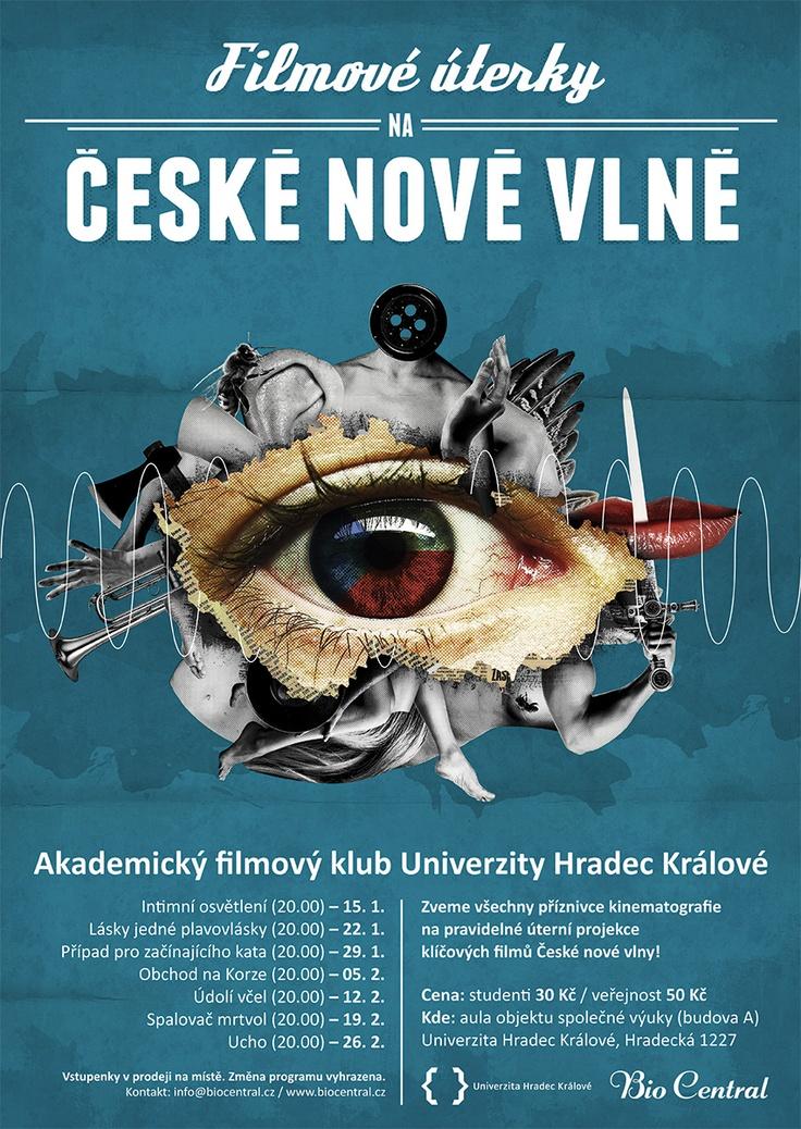 movie poster for art cinema in Hradec Kralove