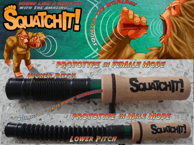 SquatchIt! Original Fun Sasquatch Caller to Find Bigfoot by Oliver, Villepigue and Woolheater — Kickstarter