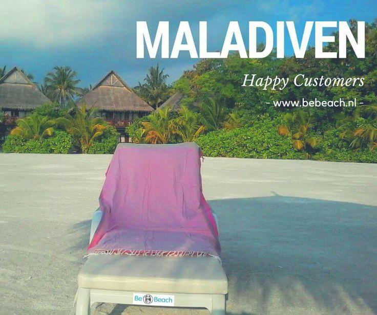 Happy customers van www.bebeach.nl op de Maldiven