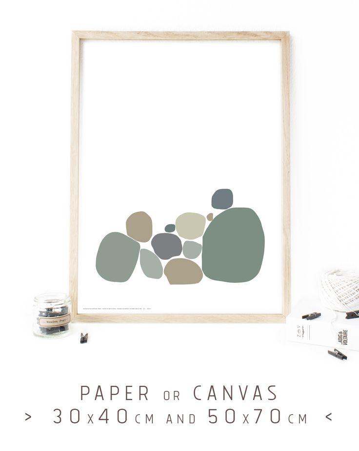Affiche, tons de gris, minimalist poster art prints, large canvas art, giclée print, large wall decor, Tinos island, Greece, up to 50x70cm