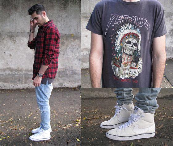 nike blazer jeans