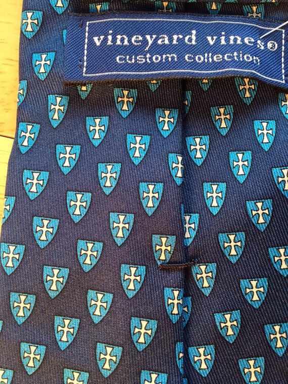 Vintage Custom Vineyard Vines Sigma Chi Tie by BlackfishFarm