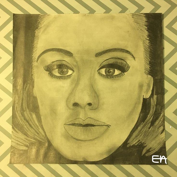Adele Hello Cover - Pencil