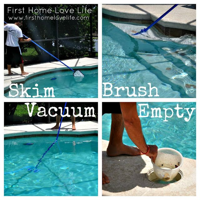 How To: Maintain Your Pool - First Home Love Life