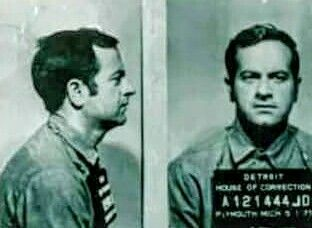 """Joe """"The Builder"""" Andriacchi Chicago Outfit """"Heavy"""" in a 1971 mugshot. (Ross Stanger)"""