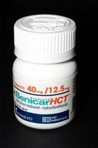 Taking Benicar (Olmesartan medoxomil), a medication prescribed for the treatment of high blood pressure (hypertension), can result in a gastrointestinal problem referred to as sprue-like enteropathy, which is characterized by chronic diarrhea, unexplained weight loss, vomiting, severe pain, and a number of other gastrointestinal problems.