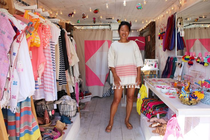 katie long, owner of mobile retail shop