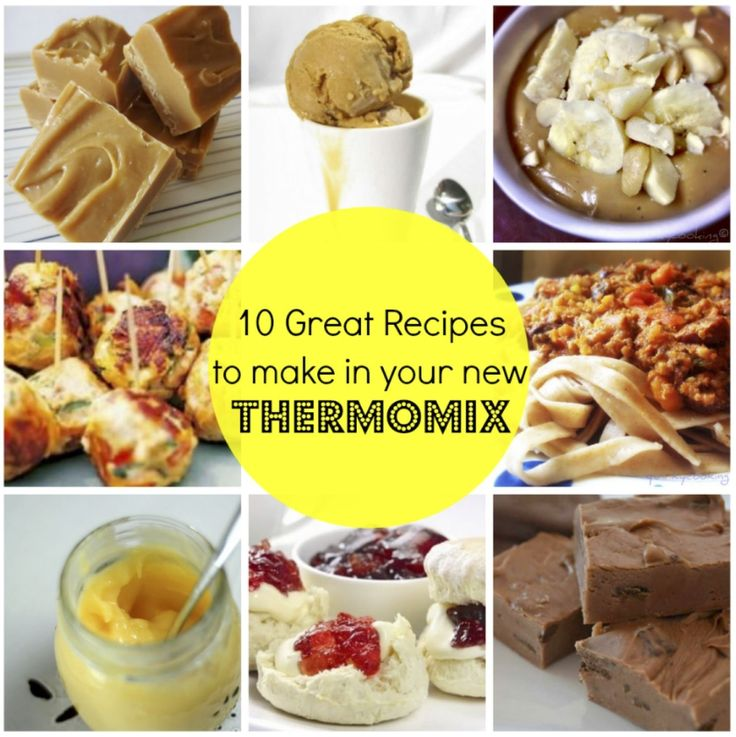 10 great recipes to make in your thermomix collage mums lounge