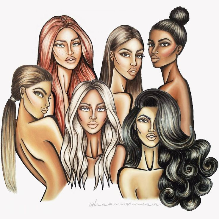 All together @arielaartistry #fashionillustration #fashiondoodles…