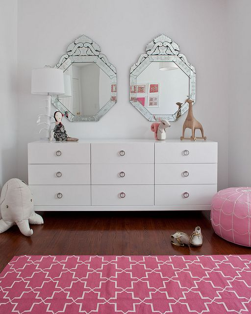 "Cute for a ""big girl"" room."