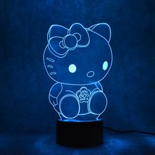 Novelty 3D LED Table Lamp USB Visual Luminaria Bedside Night Lights For Kids Gift Cat Lamp Baby Sleeping Night Light Kitty Decor //Price: $US $15.61 & FREE Shipping //     #festive #party #birthdayparty #christmas #wedding decoration #event