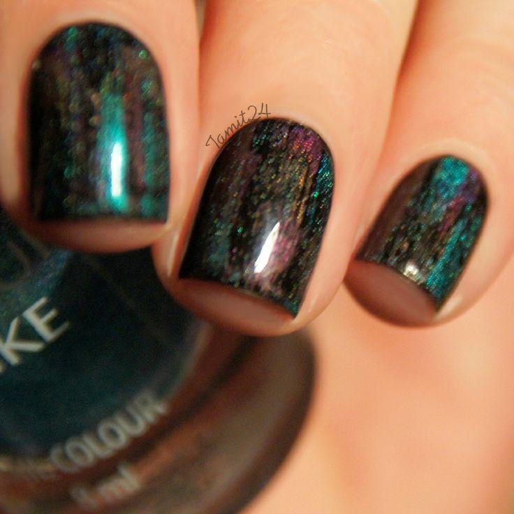 Toe Nail Art Tutorials: Fall In ...naiLove!: DISTRESSED Holographic Nails