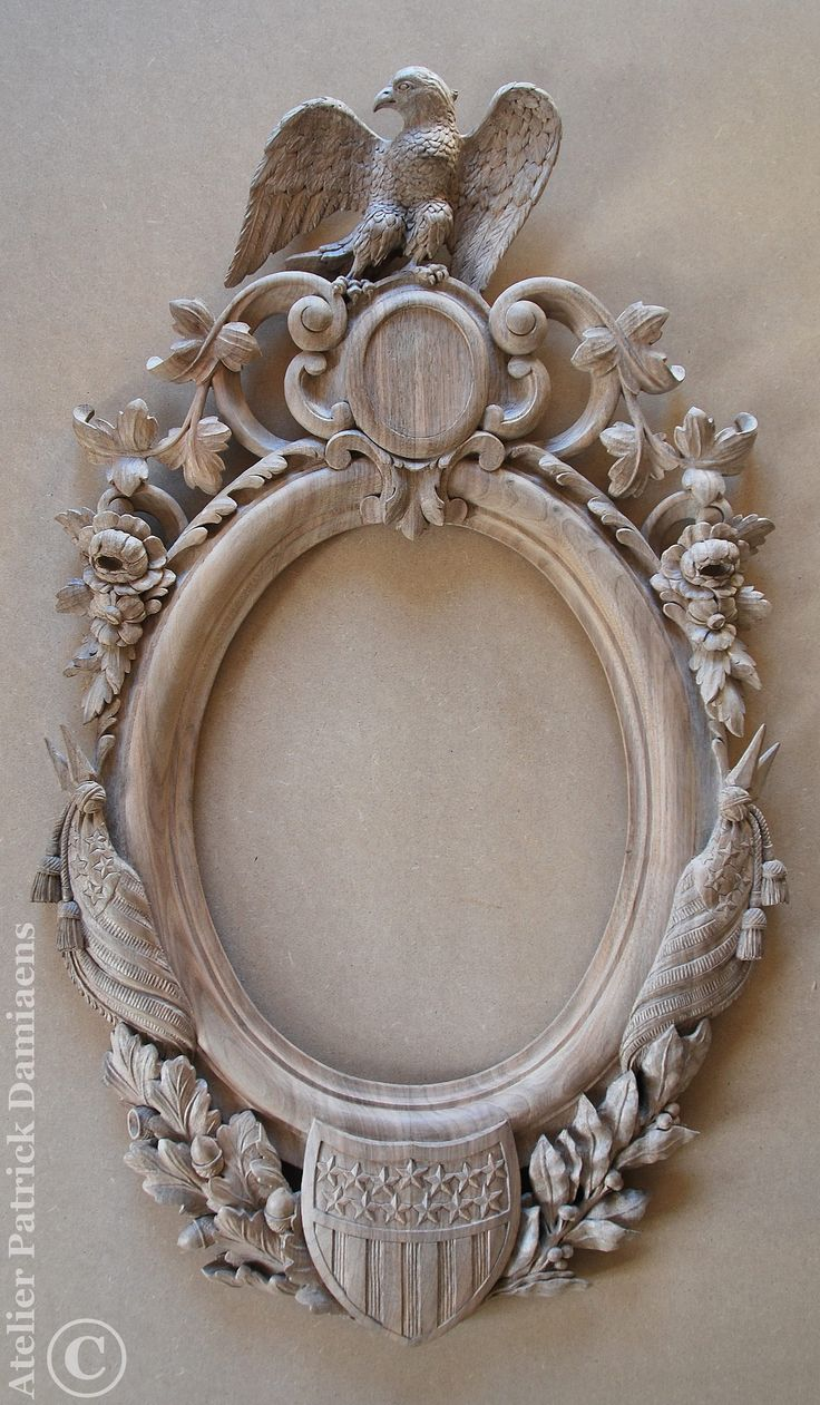 48 best ornamental wood carving architectural for Custom made mirrors