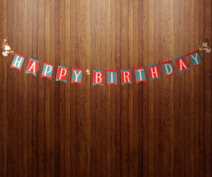 Peanuts Large Premium Birthday Banner (12 ft Long) and Party Supplies Custom Designed by InkSpireVe by Inkspireve on Etsy
