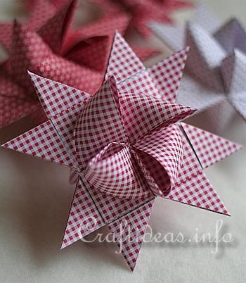 German Paper Stars Ornaments, Garland, Wreaths, Gift Bows, Window Decorations...and more.