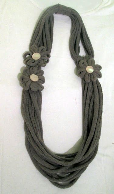 STELLEDILATTA: Collana ....di maglia riciclata
