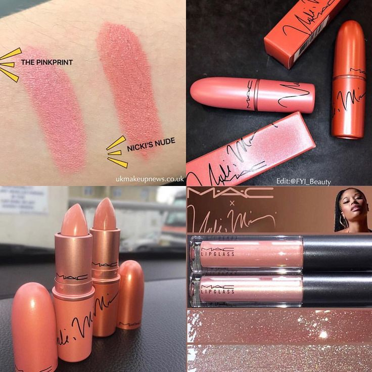 "Mac X Nicki Minaj 2017 - UK Makeup News With Jess (@fyi_beauty) on Instagram: ""SWATCHES More swatches of the @maccosmeticsuk X @nickiminaj Collection ! In the bottom right…"""