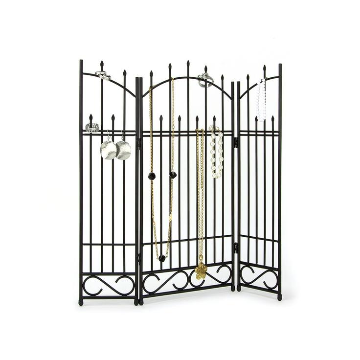 Need this! Umbra Gateway Jewelry Stand from LittleBlackBag.com  ::Black:: Jewelry standUmbra Gateway, Jewelry Storage, Gateway Jewelry, Metals Jewelry, Jewelry Organic, Jewelry Stands, Gateway Metals, Offices Storage, Jewelry Trees
