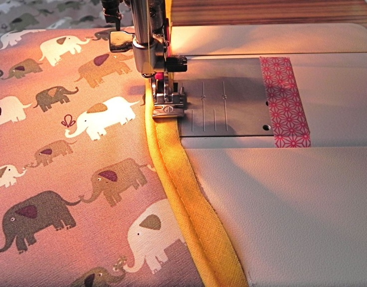 Patroon voor een baby wikkeldeken en tutorial