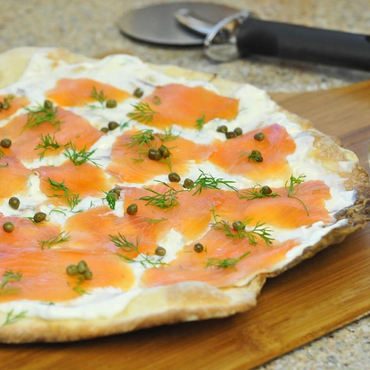 Smoked Salmon Pizza