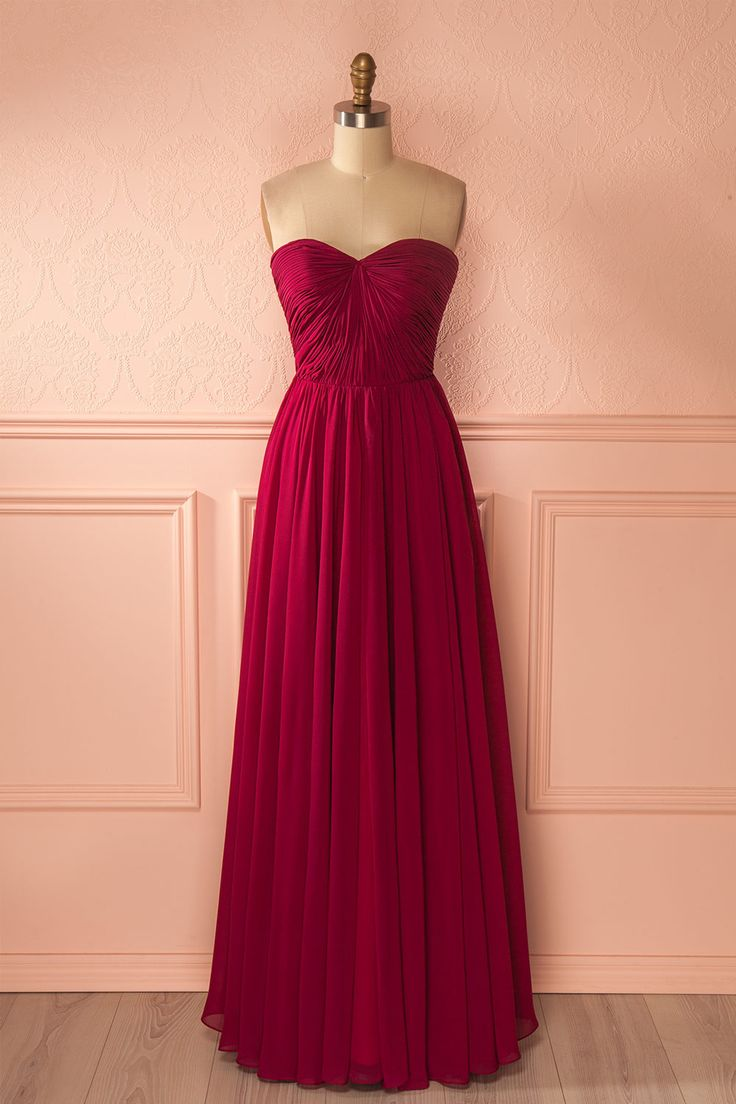Raima - A red gown that will never fail to dazzle. #promdresses #bridesmaiddresses