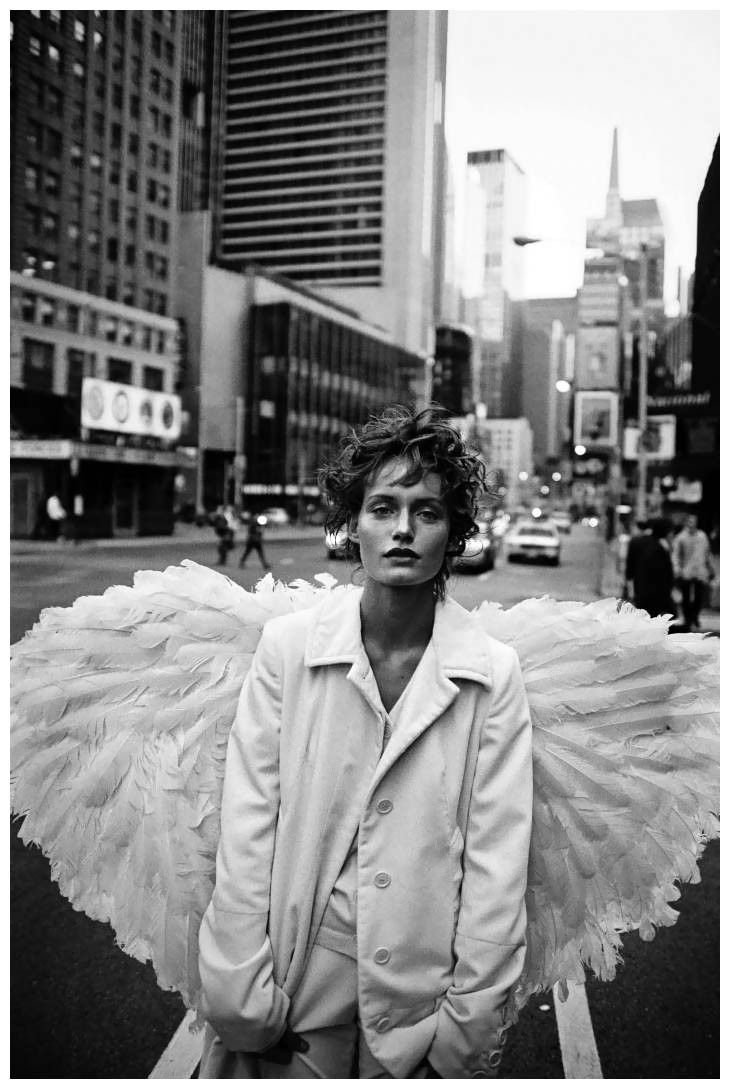 Amber Valletta, Harpers Bazaar, editorial, peter lindbergh