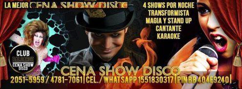 Cena Show San Telmo
