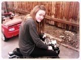 me on mini bike