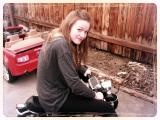 me on mini bike